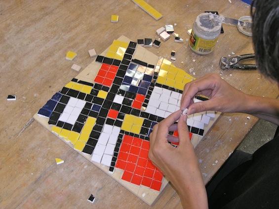 mondriaan-mozaiek